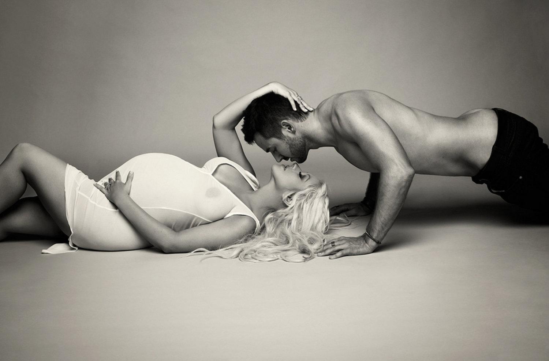 Секси фото беременных, Голые беременные девушки (38 фото) 2 фотография